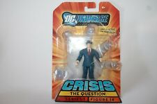 DC UNIVERSE INFINITE HEROES THE QUESTION  SERIES 1 MOMSC NEW