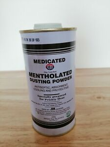 Medicated Mentholated Dusting Powder(Nigerian). Antiseptic Absorbent Cooling...