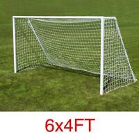 6*4ft Polypropylene Football Soccer Goal Post Net Outdoor Sports Match Training