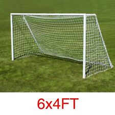 2PCS 6*4ft Football Soccer Goal Post Net Outdoor Sports Match Training Nets
