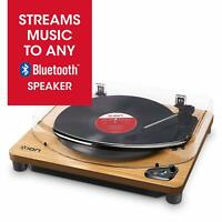 ION Audio Air LP - Vinyl Record Player / Bluetooth Turntable with USB Output for