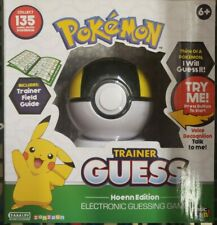 SEALED Pokemon Trainer Guess: Hoenn Edition Electronic Guessing Game RARE