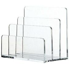 OSCO CLEAR ACRYLIC LETTER HOLDER - NEW + NEXT WORKING DAY COURIER
