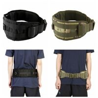 Camouflage Molle Outdoor Tactical Belt Multi-purpose Girdle Military Battle Band