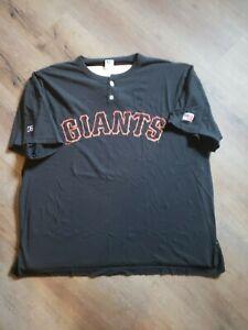 San Francisco Giants Size XXL Black2 Button Shirt