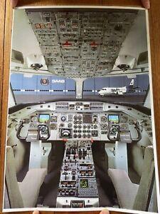 Saab 340 Cockpit Photo -A3
