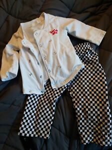 Baby Boys/Girls/Unisex Baker/Chef Outfit/Costume Size 80 6-12 Months