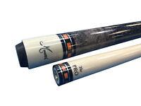 New Meucci SB3-O Custom Billiards Pool Cue Stick PRO SHAFT - Orange + HARD CASE