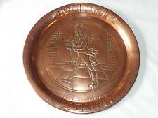 Vintage Johnnie Walker Copper Serving drinks Tray.