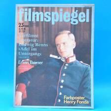 DDR Filmspiegel 23/1980 Olsenbande Egon Olsen Henry Fonda Emil Steinberger H