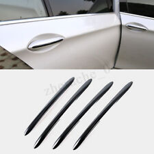 Black Door Handle Cover Stripe Trim for BMW 5 series F10 F18 F11 2011-2017