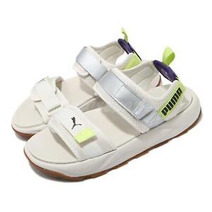 Puma RS-Sandal Iri Ivory Silver Yellow Gum Strap Men Unisex Sandal 368763-01
