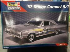 Revell 1/25scale 67 Dodge Coronet R/T Model Kit