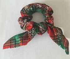 Christmas Scrunchies Hair Rope Elastic Hair Bands Ponytail Holder