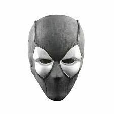 Black Fabric Plastic Wire Mesh Paintball Airsoft Full Face Protection Skull Mask
