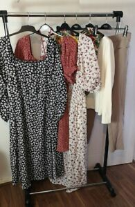 Womens Clothes Bundle Size 24 Midi Dress Trousers Sweater Jumper Pants Top KK4