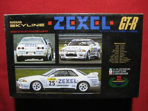 Nissan Skyline GTR Zexel Racing 1:43 Rosso Metal + Plastic Kit Rare GT-R SPA