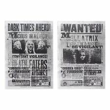 Harry Potter Set Of 2 Dark Arts 3D Lenticular Notepads