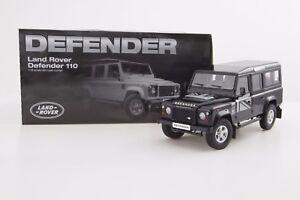 1:18 Land Rover Defender D110 One Ten Dorlop Diecast Model Black (LHD) NEW