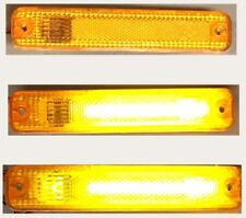 FORD 73-79 PICK UP L.E.D. UPGRADE RED & AMBER OEM markers RARE NEW SET OF 4