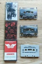 Aerosmith 3 Cassette Lot Pump, Permanent Vacation, Greatest Hits
