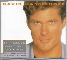 David Hasselhoff If I Could Only Say Goodbye CD Single