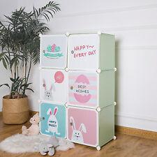 Kids Dresser Kids Closet Portable Wardrobe Children Bedroom Armoire Clothes