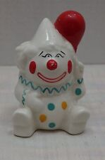 Vtg Hand Painted Clown with a Ballon