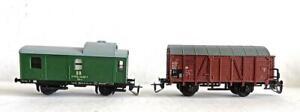 2 Different TT Gauge Berliner TT-Bahnen Wagons Excellent Condition No Reserve