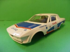 Scalextric Triumph TR7 Shell with Windows and Interior.