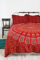 Urban Outfitters Tapestry Medallion Red Duvet Cover Twin XL - Magical Thinking