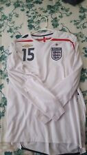 England 2007 Umbro Home Jersey LS Size L