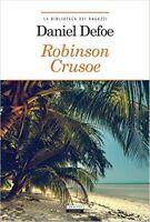Robinson Crusoe di D. Defoe LIBRO Nuovo Crescere Edizioni