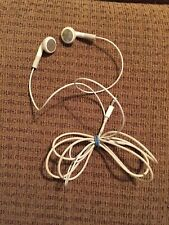 Retro Apple Earphones Iphone 4/5 Early Earbuds ~Great Shape~ Works On Any Iphone