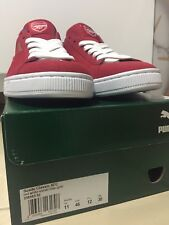 Puma Suede Classic Arsenal FC Size 11 UK/ 12 US LIMITED EDITION Sneakers Trainer