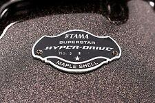 """Tama Superstar Hyper-Drive Tom Drum In, Midnight Gold Sparkle, 12 X 7"""""""