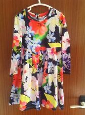 STUNNING AND GENUINE TED BAKER SUMMERY DRESS IN AGED 5-6 YEARS