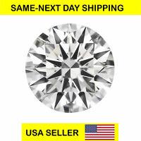 CUBIC ZIRCONIA Loose Round Cut Stone CZ USA Shipper Best Quality 1-8 mm