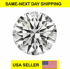 CUBIC ZIRCONIA Loose Round Cut Stone CZ USA Shipper Best Quality 1-8 mm