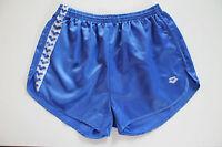 ARENA Vintage Shorts Gr.XXL NEU Sporthose Short Sport Nylon Glanz shiny blau