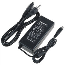 4Pin AC Adapter For Mintek DTV-173 LCD TV DVD Combo Power Supply Cord Charger
