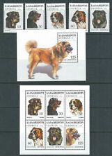 Georgia 1997 Cani,Rottweiler ,Inglese Bulldog,Sheepdog Ecc. Completo VF MNH