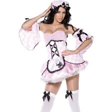 Miss Muffet Costume Adult Pink Deluxe M UK12/14 Smiffys 36192 Ladies Fancy Dress