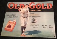 Old Gold Babe Ruth Reproduction Rare Original Sign Circa 1930