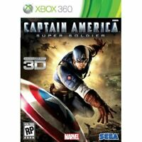 Captain America: Super Soldier For Xbox 360 Very Good