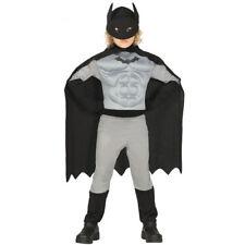 costume vestito Batman supereroe carnevale bambino 3-4 anni