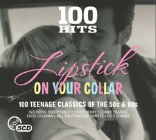 100 HITS-LIPSTICK ON YOUR COLLAR NEW DIGIPAKPACK EDITION 5 CD NEU