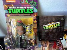 TMNT Classic Col. 1990 Movie Raphael & SDCC 2012 Exclusive Night Shadow Leonardo