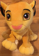 Disney Lion King: Paw'N Play Simba plush toy, Used. Talks and moves claws