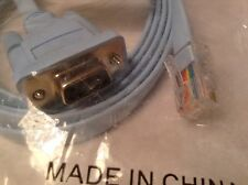 CISCO 9 PIN TO ETHERNET CONNECTOR CABLE NEW IN PACKAGE QTY 2